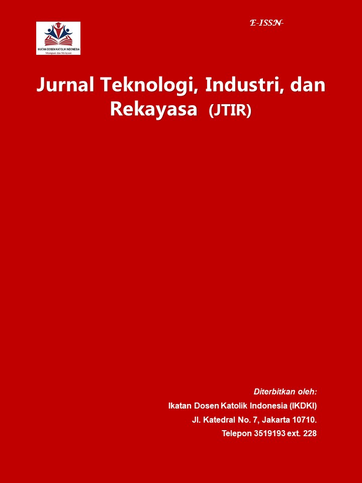 View Vol. 1 No. 1 (2020): Jurnal Teknologi, Industri, dan Rekayasa (JTIR)